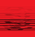 abstract red circuit light futuristic design vector image vector image