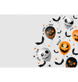 halloween party banner scary balloons