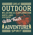 moose creek outdoor wildlife exploration adventure vector image