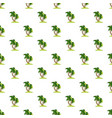 palm tree pattern vector image vector image