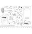 Police Safety concept vector image vector image