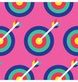 Seamless Archery Pattern Archery Pattern vector image
