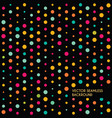 abstract dotted seamless backround vector image vector image