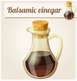 Balsamic vinegar Detailed Icon vector image vector image