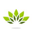 Lotus flower decorative logo