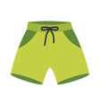 Running shorts vector image