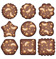 set of cookies vector image vector image