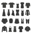 Set of women s and men s clothing