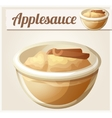 Applesauce Detailed Icon vector image