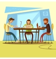 Coworking And Business vector image vector image
