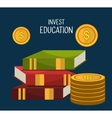 Education business investment vector image