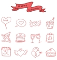 Icon of Valentine day element vector image vector image