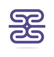 Logo Business Letter H Icon Design Element vector image vector image