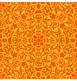 orange seamless wallpaper pattern vector image vector image