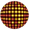 sphere light pattern vector image vector image