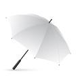 White Umbrella vector image