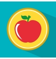 apple fruit vector image