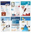 Health And Medical Chart Diagram Infographic vector image vector image