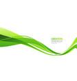 modern colorful flow poster wave liquid shape vector image