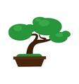Money tree concept with room for text or copy vector image vector image
