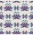 Seamless pattern the blue tracery vector image vector image