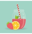 Smoothie icon design vector image vector image