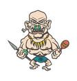 tribes of inland cartoons cartoon character vector image