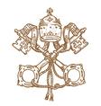 Vatican Symbol vector image vector image