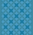 abstract circles blue pattern background vector image vector image