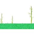 Asian Bamboo Garden vector image vector image