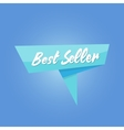 best seller blue sale Tag vector image vector image