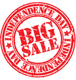 Big Sale stamp vector image vector image