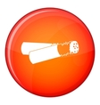 Cigarette butt icon flat style vector image vector image