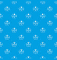clothes button dress pattern seamless blue vector image vector image