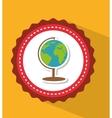 planet earth school vector image