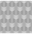 arrow pattern seamless scandinavian design vector image