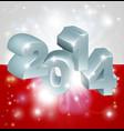 2014 polish flag vector image vector image