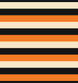 horizontal orange gold yellow beige black stripes vector image
