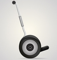 segway a side view vector image