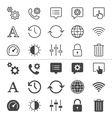 Setting icons thin