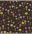 suitable for textiles wallpaper wrapping paper vector image