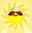Sun Summer Holiday Woman vector image vector image