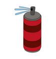 aerosol can icon image vector image vector image