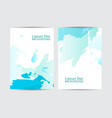 annual report background vector image vector image