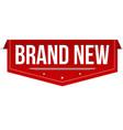 brand new banner design vector image vector image
