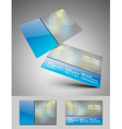 Business cards vector image