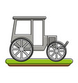 carriage or chariot icon image vector image vector image