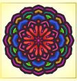 colorful mandala art with floral motifs