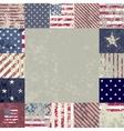 flag usa vector image vector image