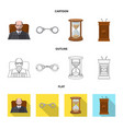 law and lawyer logo vector image vector image